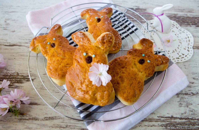 Was fürs Osterkörbchen: Hefehäschen