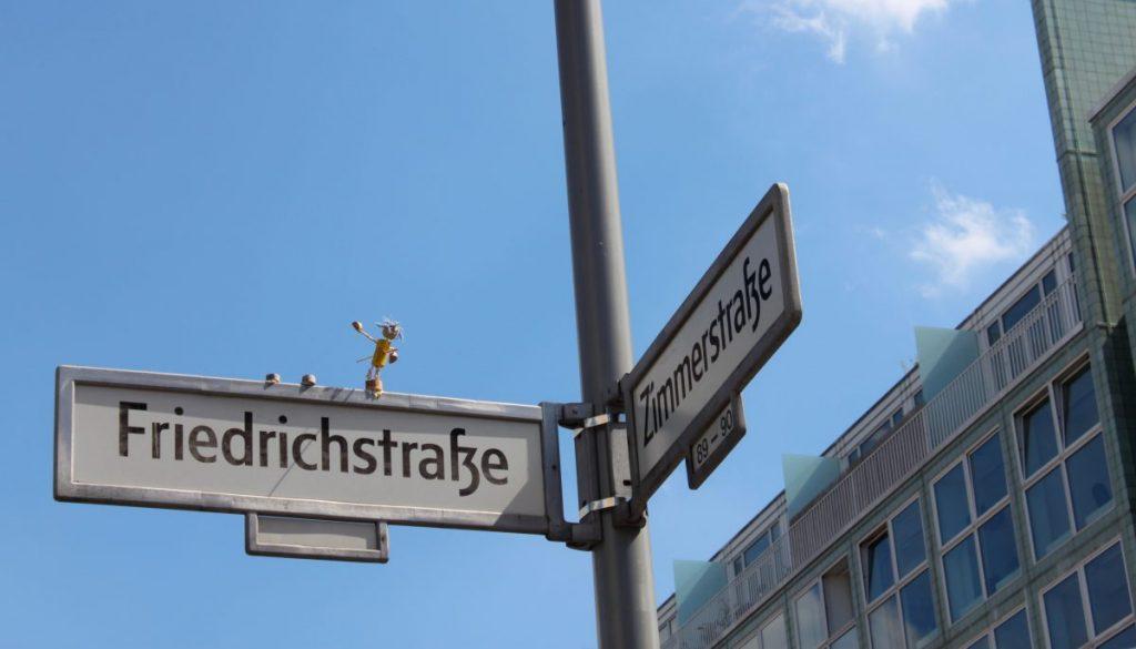 Die Friedrichstraße in Berlin
