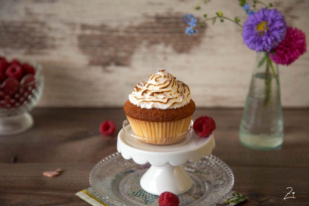 Zitronen Cupcakes mit Baiser