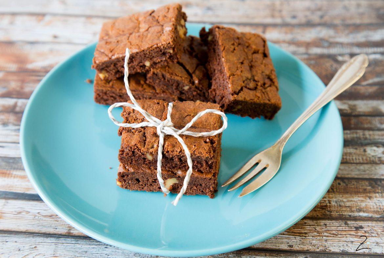 Brownie mit Pekannüssen