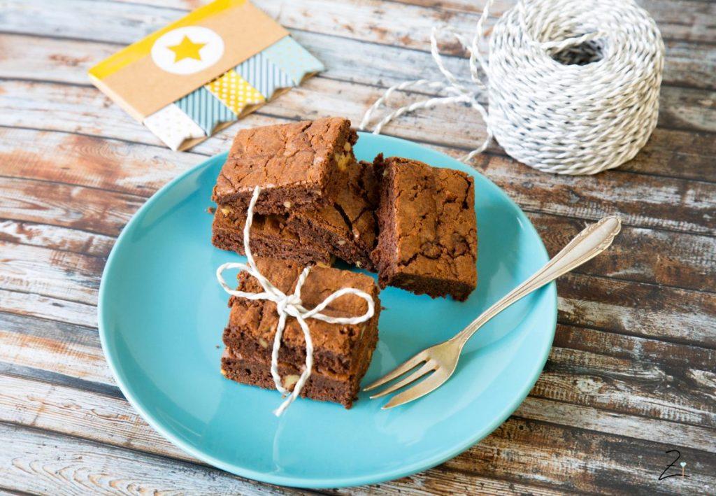 Pekannuss Brownies
