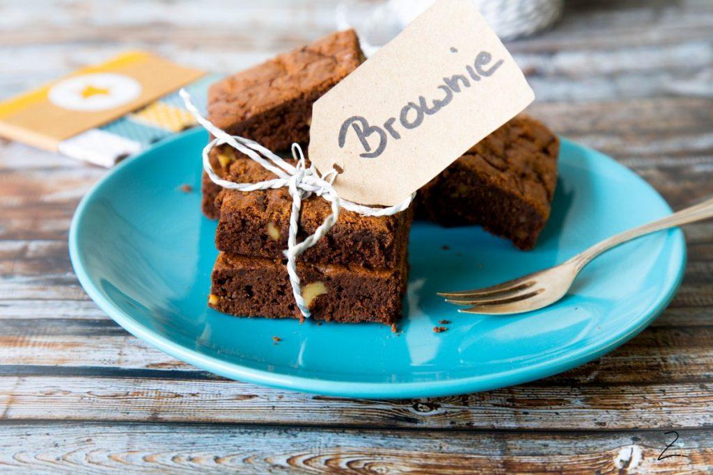Saftige Pekannuss Brownies, Einfaches Rezept