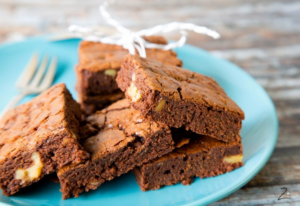 Pekannuss Brownies