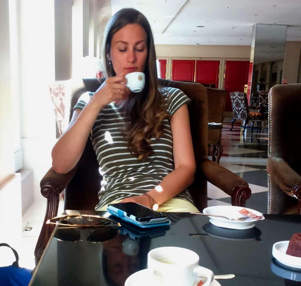 Café im Hotel Adlon