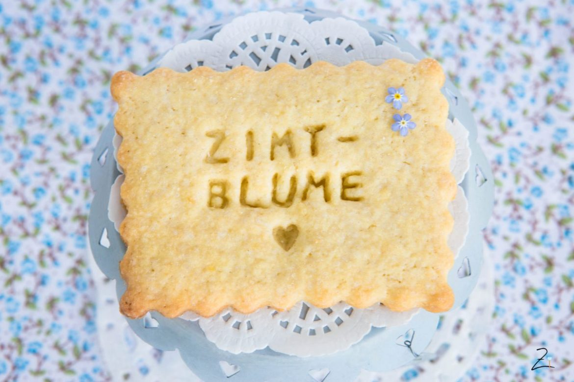 Zimtblume Cookie