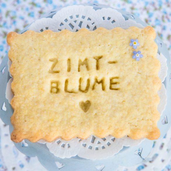 Zimtblume Cookie