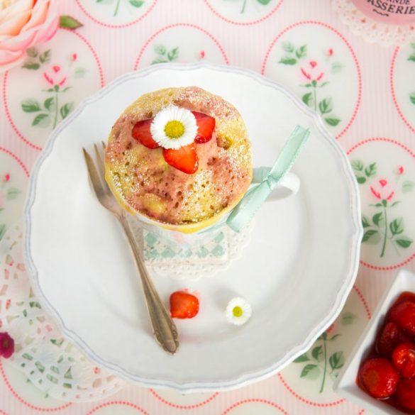 Erdbeer Mug Cake