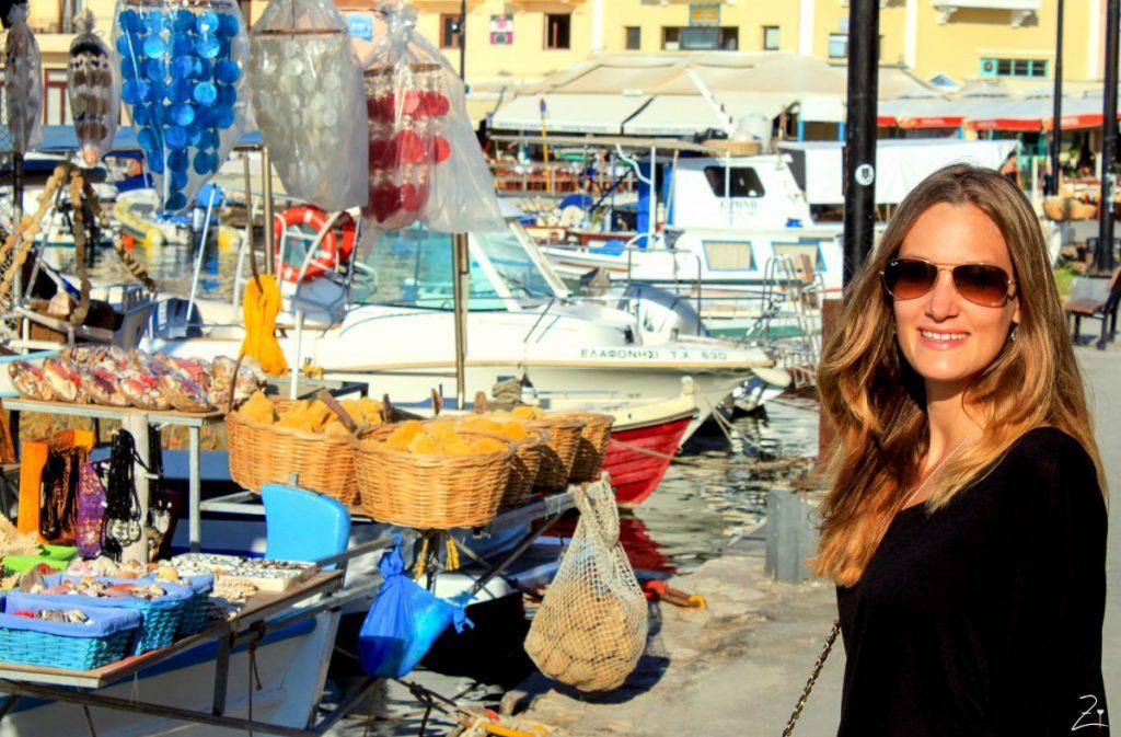 Der venizianische Hafen von Chania