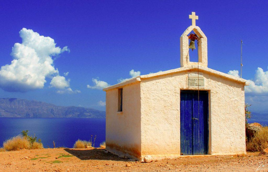 Eine Kapelle am Wegesrand, Kreta