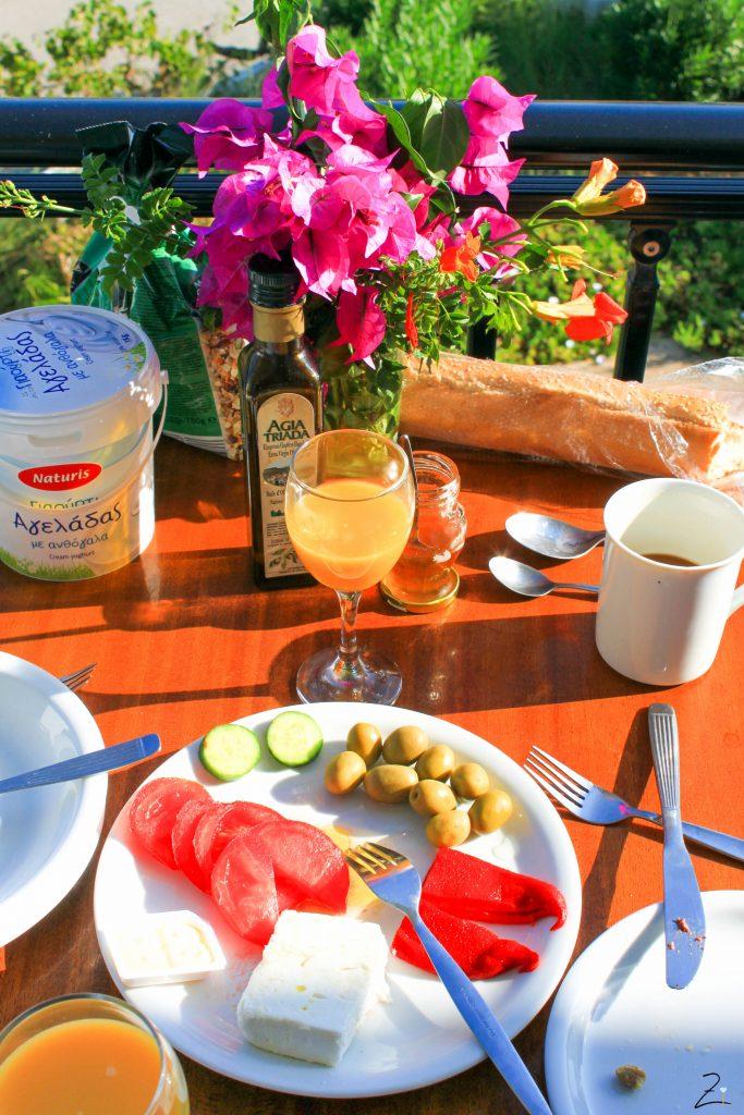 Griechisches Frühstück, Kreta