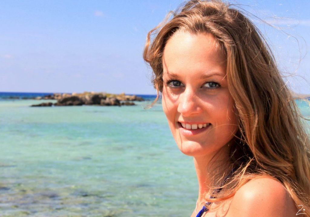 Am Strand von Balos, Kreta