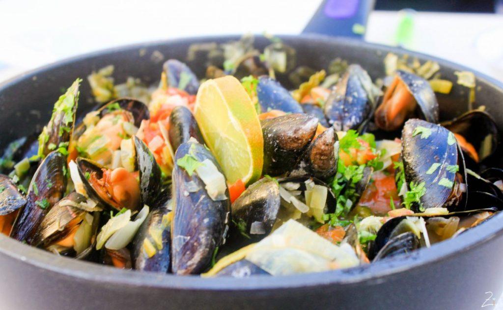Meeresfrüchte in Chania
