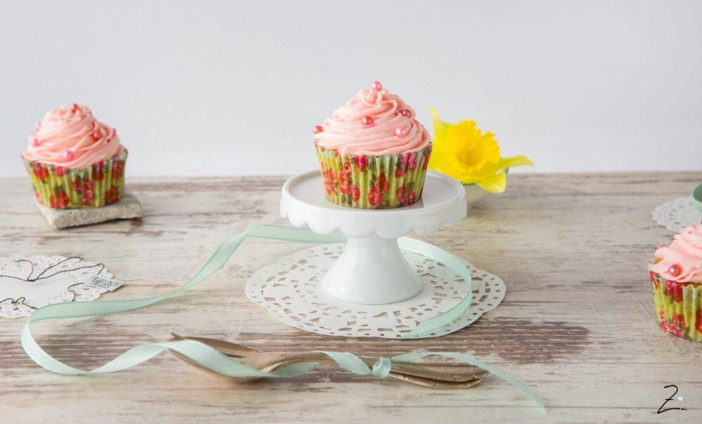 Erdbeer-Mascarpone Cupcakes