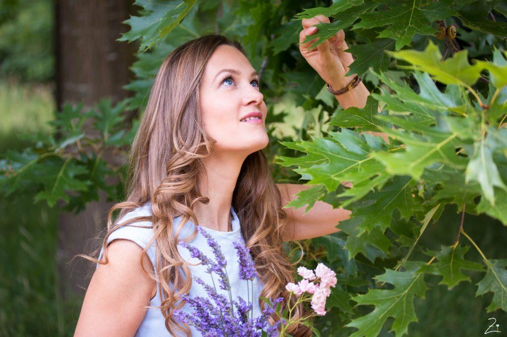 Bloggerin Angelina Antal
