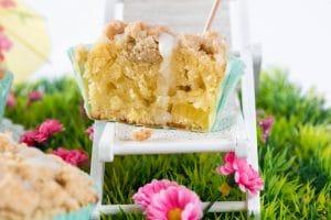 Ananas Muffin mit Streuseln