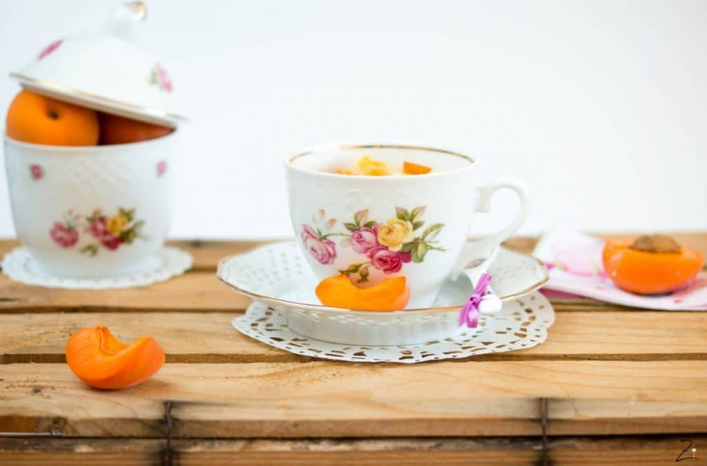 Aprikosen Mug Cake