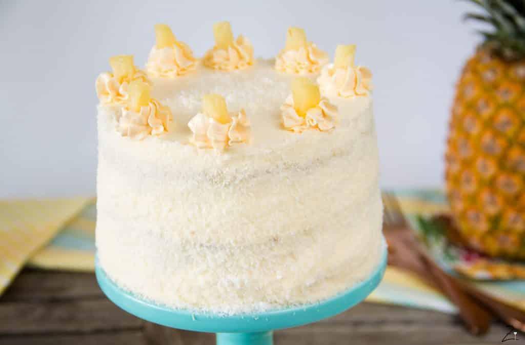 Piña Colada Torte