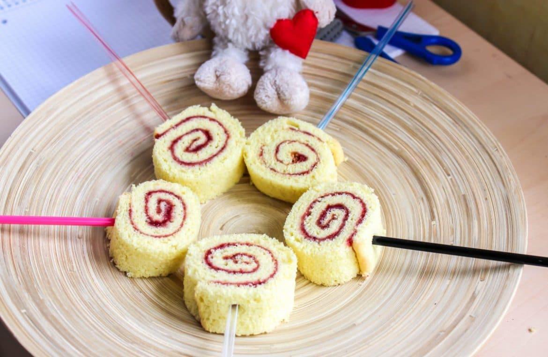 Biskuit-Lollies zum Schulanfang