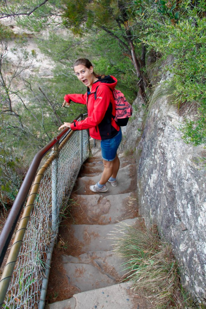 Blue Mountains, Giant Stairway