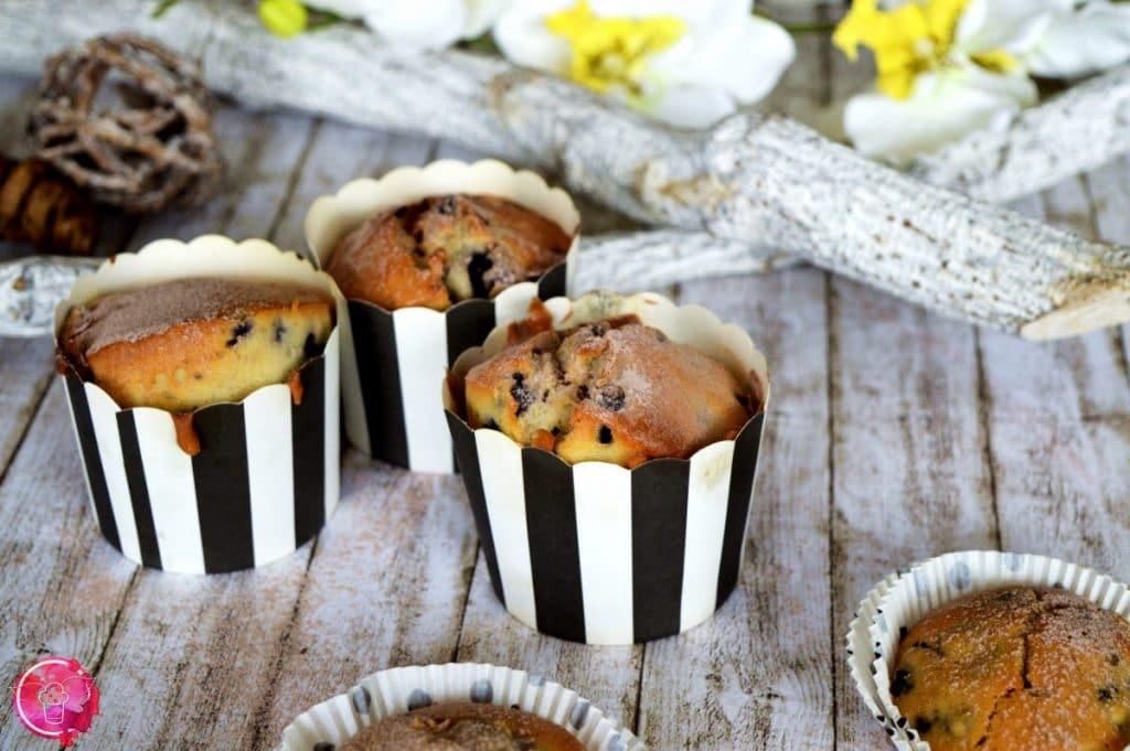 Blueberry Muffins zum Schulanfang
