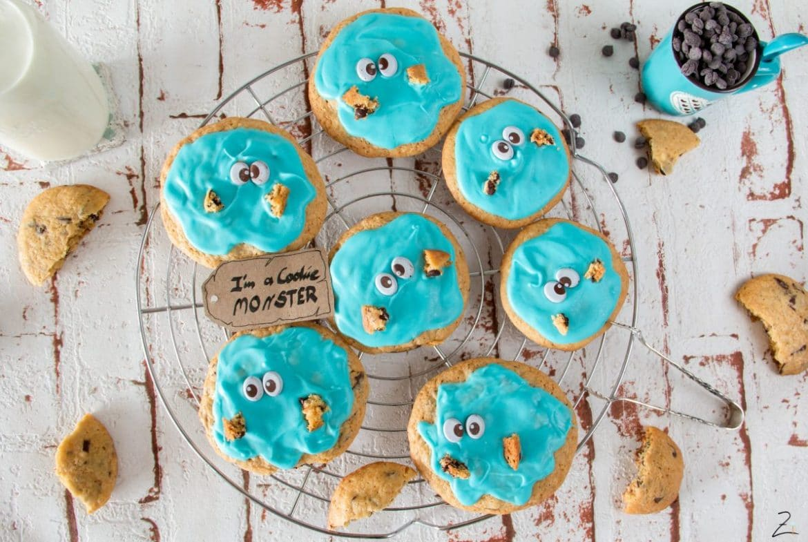 Chocolate Chip Cookie Monster