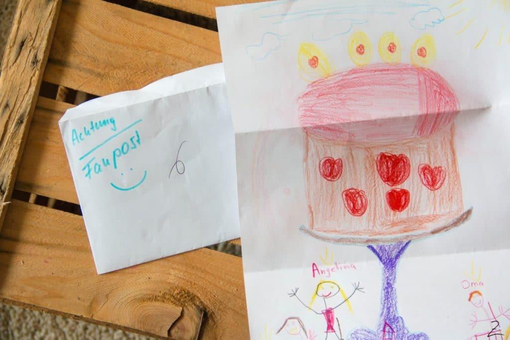Gewinnspiel zum Schulanfang, gemaltes Bild