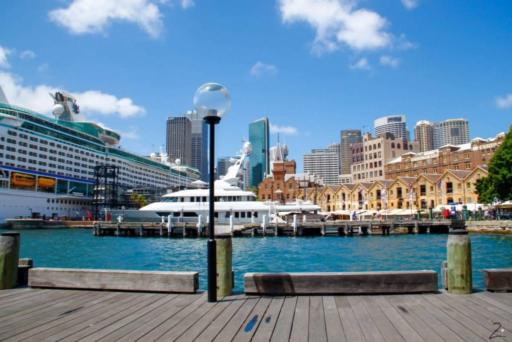 Sydney waterfront