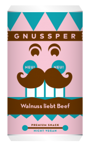 GNUSSPER BOX - Walnuss liebt Beef
