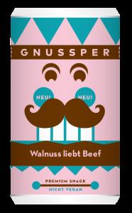 GNUSSPER BOX - Walnuss liebt Beef