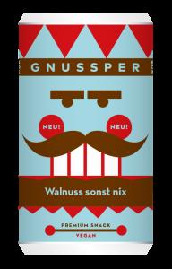 GNUSSPER BOX - Walnuss sonst nix