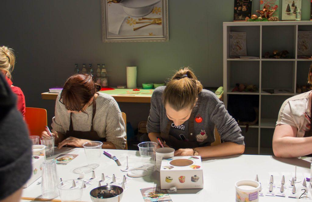 Plaza Culinaria: Zimtblume beim Wilton Workshop