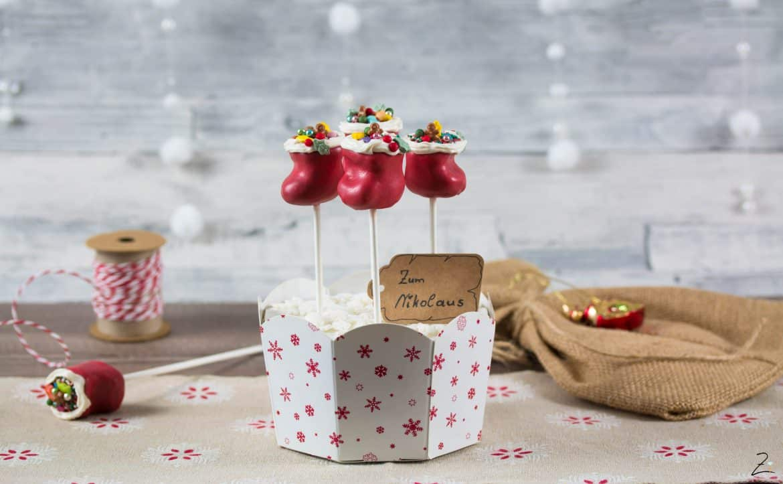 Nikolaus Cake Pops