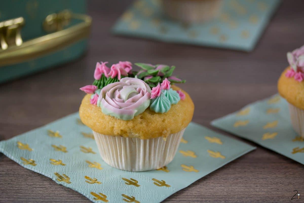 Rezept für Sukkulenten Cupcakes -