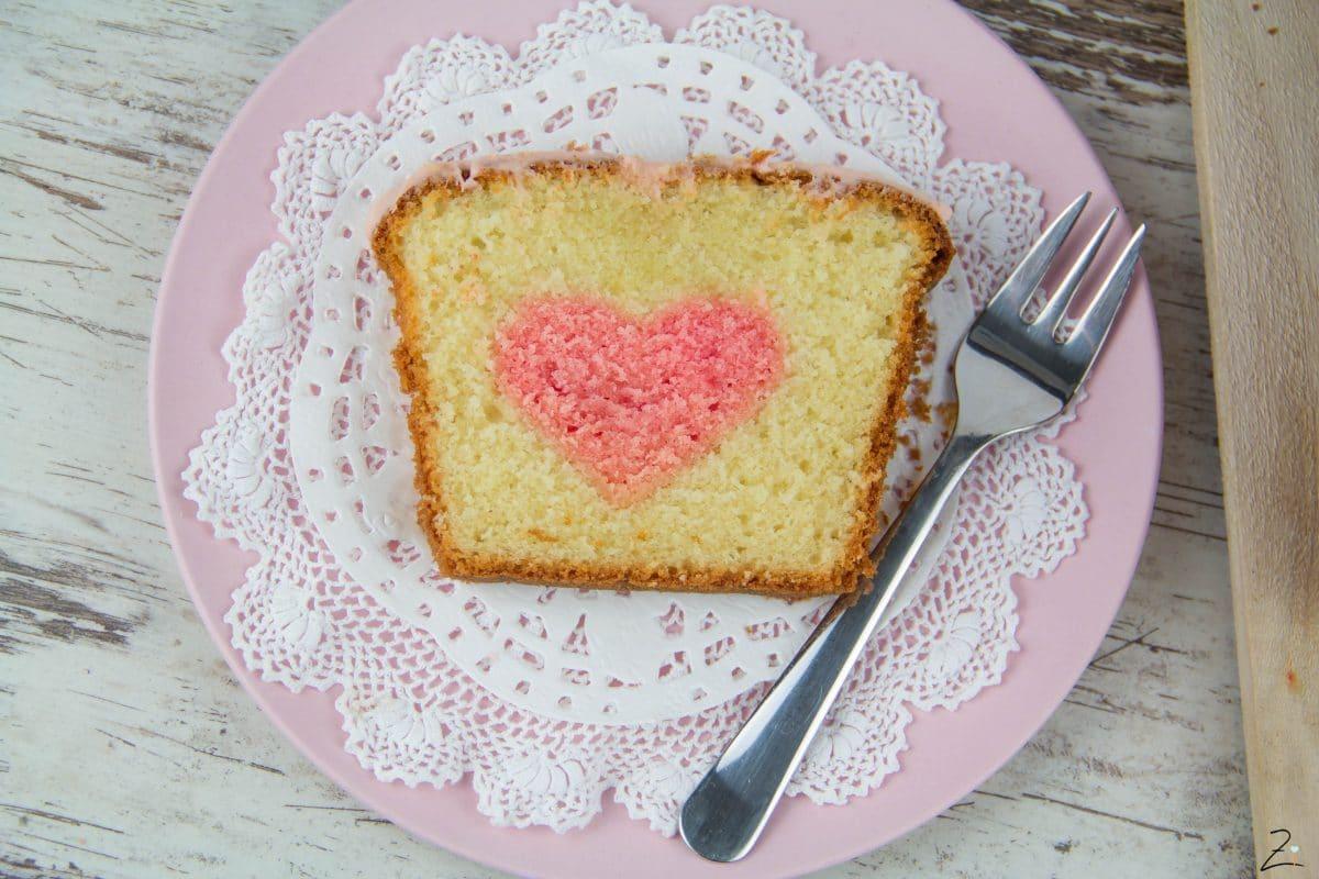 Kuchen Mit Herz Zuhause Image Idee