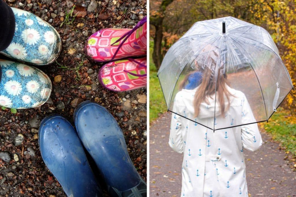 Mein Freiburg: Regenwetter
