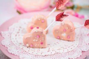 Valentinstag Cake Pops