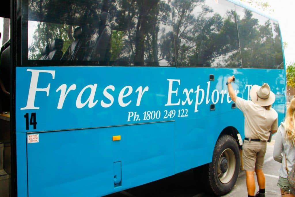 Fraser Island - 3 Tage auf Australien schönster Sandinsel