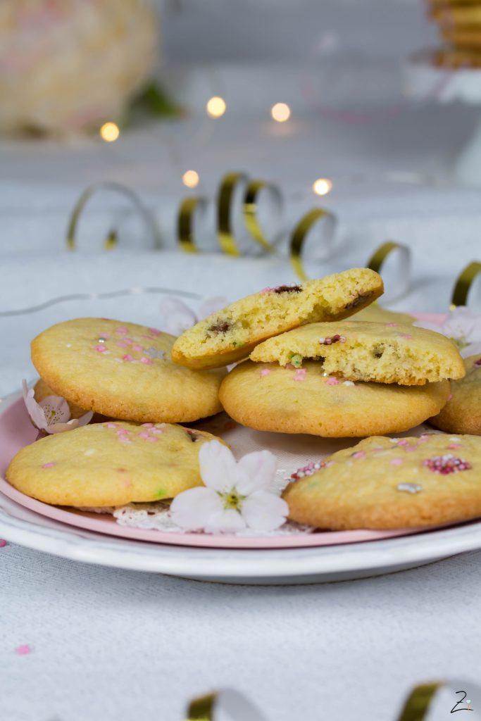 Cookie Party - Rezept für Cookies mit Schokolinsen