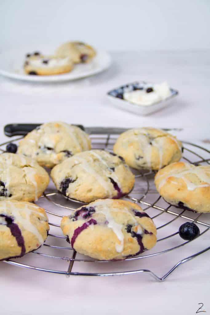 Rezept für Blueberry Scones