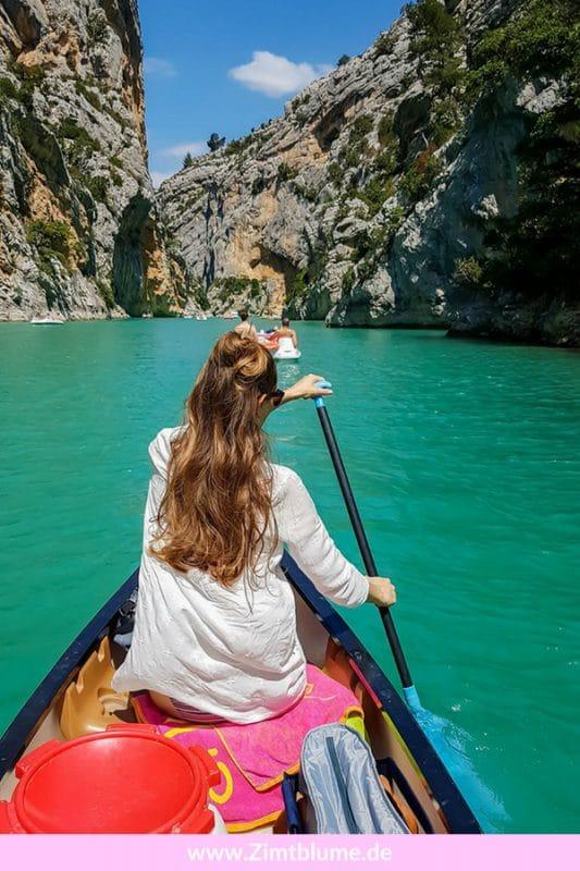 Lust auf ein bisschen Action und Abenteuer im Urlaub? Dann auf in die Verdonschlucht in der französischen Provence! In diesem Blog Beitrag gebe ich euch Tipps für einen rundum perfekten Tag in Frankreichs Grand Canyon. Los gehts!