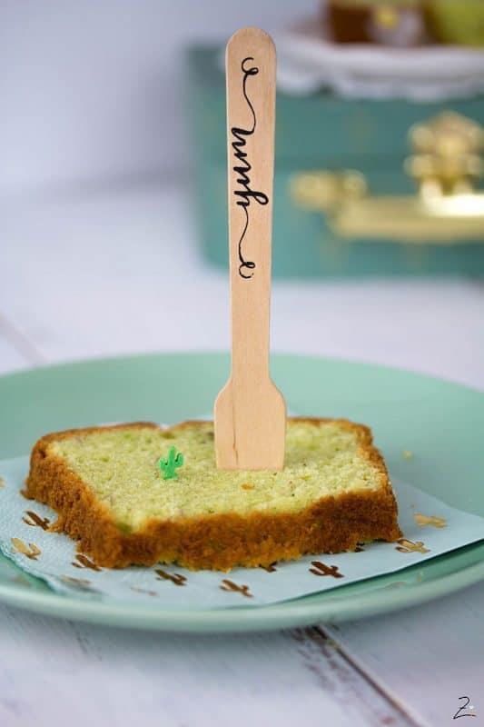 Kastenkuchen - Avocado Kuchen mit Limetten Guss