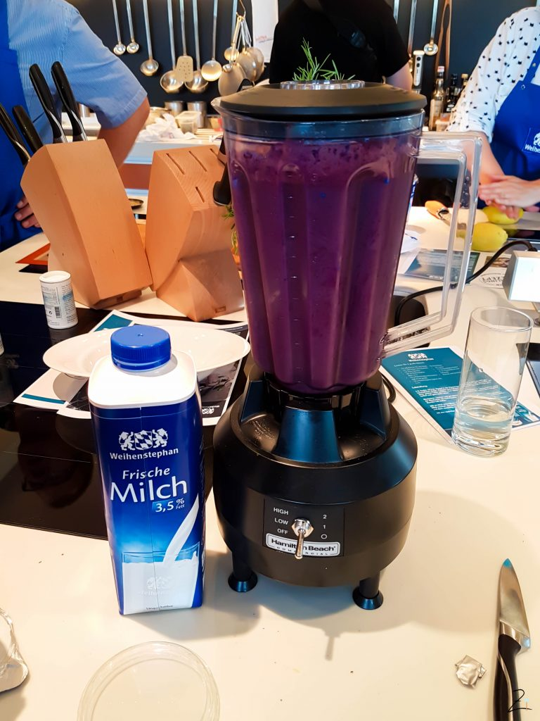 Burda Breakfast Day Frankfurt Mermaid Shake