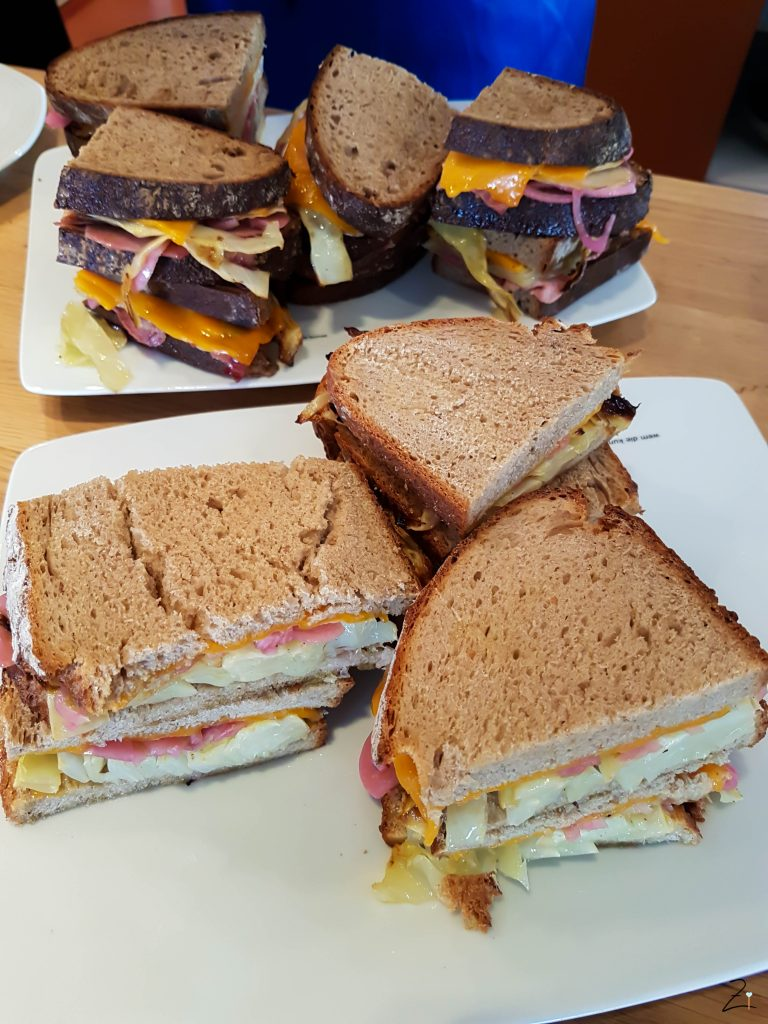 Burda Breakfast Day Frankfurt Sandwich deluxe