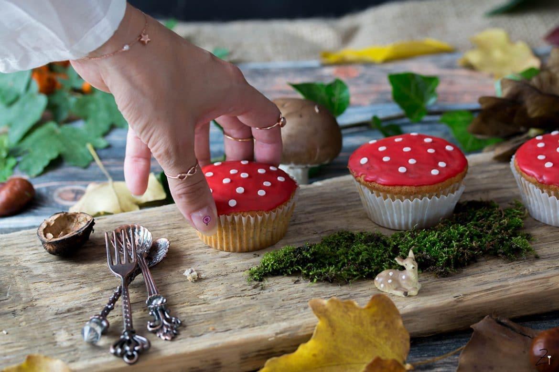 Fliegenpilz Muffins © Zimtblume