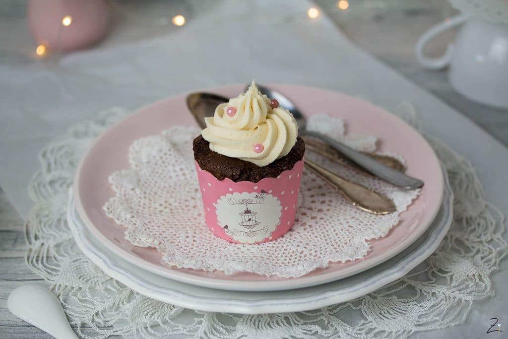 Baileys Cupcakes mit Irish Cream Frosting