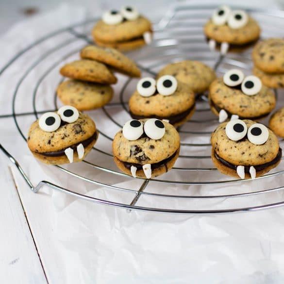 Einfaches Halloween Rezept_Chocolate Chip Vampire