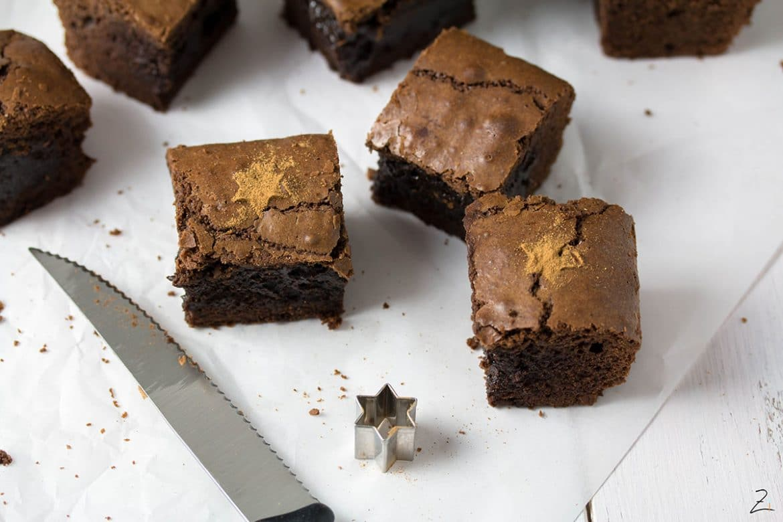 Rezept für Schoko Zimt Brownies