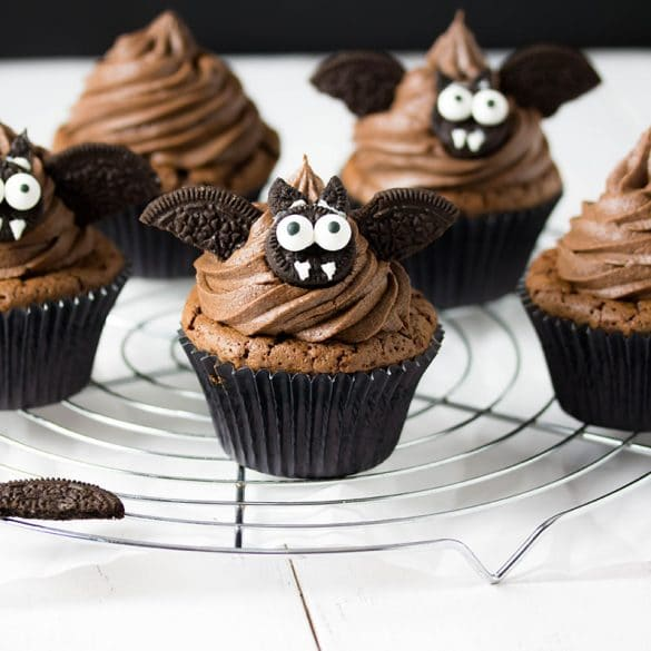 Vampi Cupcakes für Halloween © Zimtblume.de