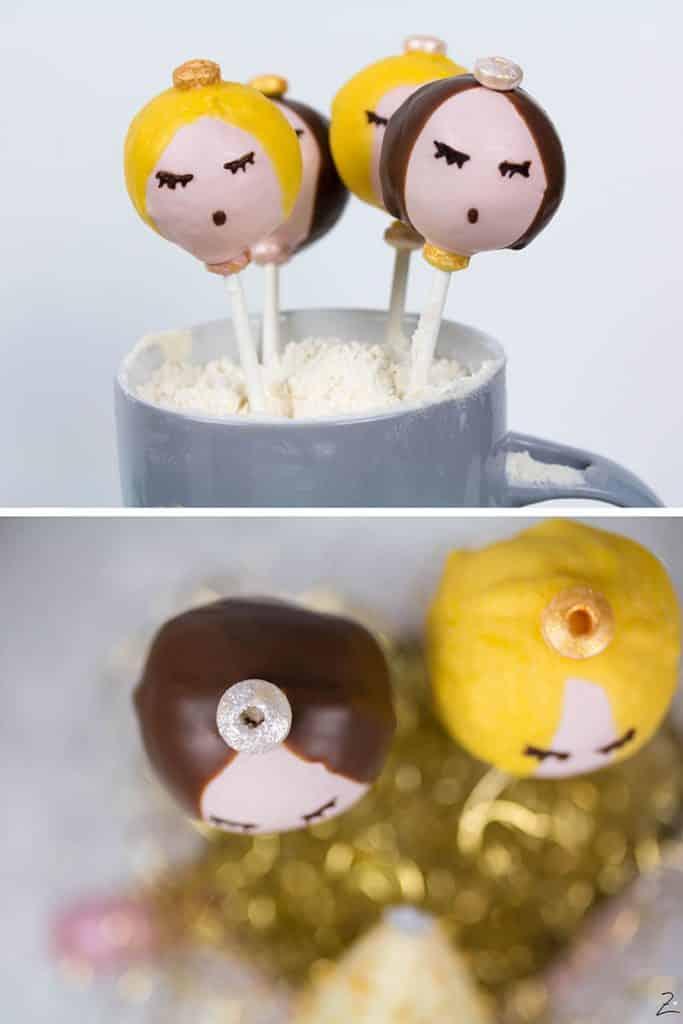 Rezept für Cake Pop Engel © Zimtblume