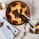 Russischer Zupfkuchen mit Herbstmotiv
